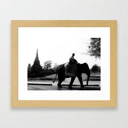 Morning Commuter Framed Art Print