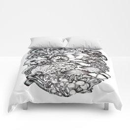 A Medley of Mushrooms Comforters