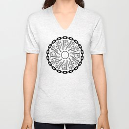 The Disc Golf Experience Unisex V-Neck