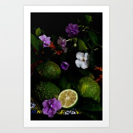 Citrus Blooms Art Print