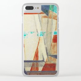 Stilt House 4 Clear iPhone Case