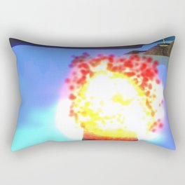 Fly: Fire Flower Rectangular Pillow