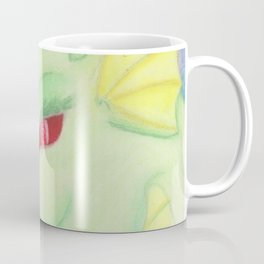 Bright Dragon in pastels Coffee Mug