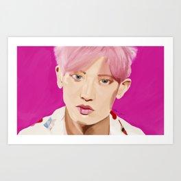 Park Chanyeol- KoKo Bop Art Print