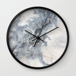 Gray Marble Texure Wall Clock
