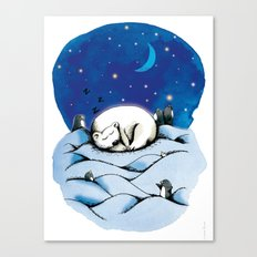 ours polaire Canvas Print