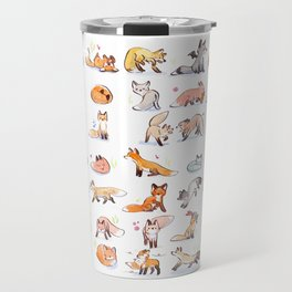 55 Foxes  Travel Mug