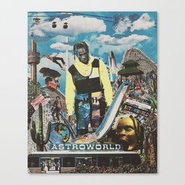 THE WONDERFUL WORLD OF FUN! Canvas Print
