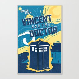 Vincent and the Doctor (10 in a series of 13) Canvas Print