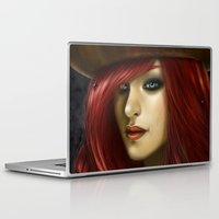 ruby Laptop & iPad Skins featuring Ruby by PiccolaRia
