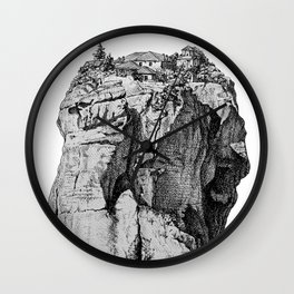 Greek monastery Wall Clock