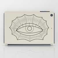 all seeing eye iPad Cases featuring ALL SEEING EYE by SMUK THINGS