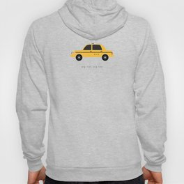 New York City, NYC Yellow Taxi Cab Hoody