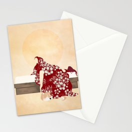 Lazy: Dawn Stationery Cards