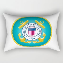 Seal of the United States Coast Guard Rectangular Pillow