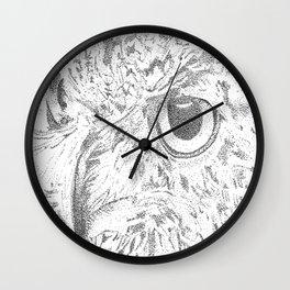 Watch Owl  Wall Clock