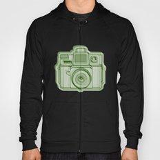 I Still Shoot Film Holga Logo - Reversed Green Hoody
