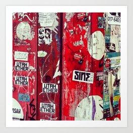 Graffiti 768 Art Print