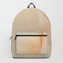 Ginkgo Biloba Botanical Abstract Graphic Art Rust Gradient Backpack