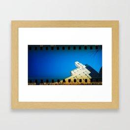 Arlington Hotel peak Framed Art Print
