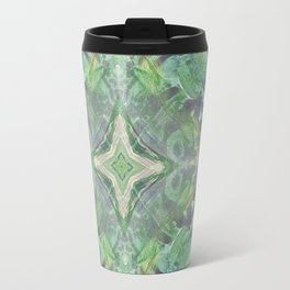 Abstract Texture Travel Mug