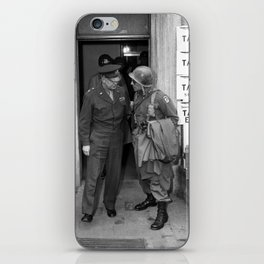 General Eisenhower and General Ridgway -- WW2 iPhone Skin