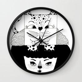 mew Wall Clock