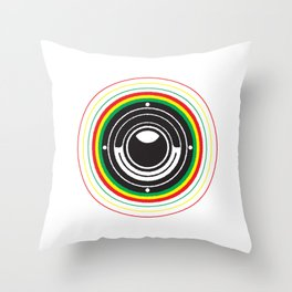 Trinity Bass Vibration Throw Pillow
