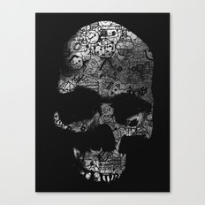 Endless Doodle Canvas Print