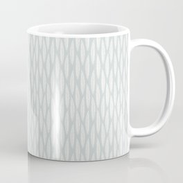Stamped Leaves in Wintergreen Coffee Mug