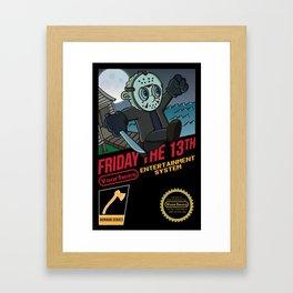 Super Voorhees Bros Framed Art Print