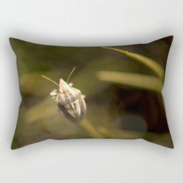 A beautiful bug Rectangular Pillow