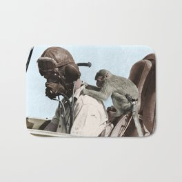 Colourised: North African Campaign Bath Mat