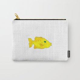 Yellow Fish (Just Babel) Carry-All Pouch