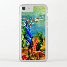 Fish Swarm Clear iPhone Case
