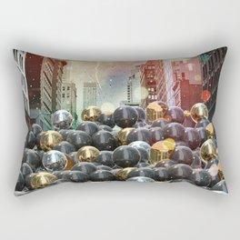 New York City Ball Pit Rectangular Pillow