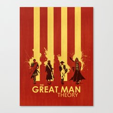 The Great Man Theory Canvas Print