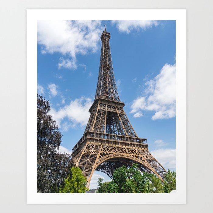 Tour Eiffel I Art Print