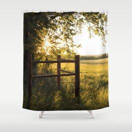 Oklahoma Summer Shower Curtain