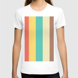 vintage stripes T-shirt