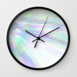 Re-Created Rapture 3 by Robert S. Lee Wall Clock