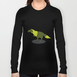skeptic tyrannosaurus Long Sleeve T-shirt