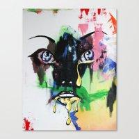 mod Canvas Prints featuring MOD by Beka Lerner