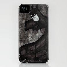 Black Bat iPhone (4, 4s) Slim Case