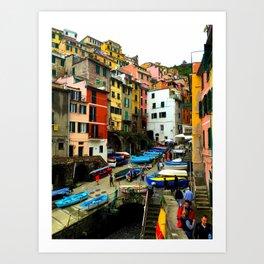 Cinque Terre - Riomaggiore Art Print
