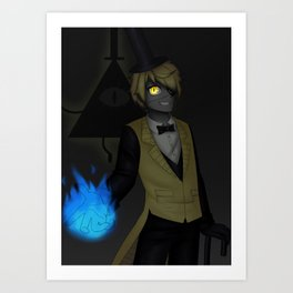 A Deal With A Demon Art Print