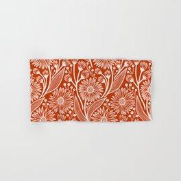 Rust Coneflowers Hand & Bath Towel