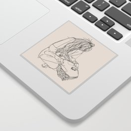 You and I Sticker