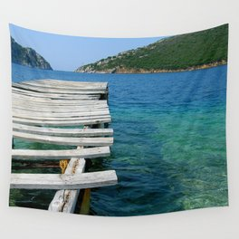 Old memories from Greece Wall Tapestry