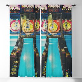 Skee Ball print Blackout Curtain